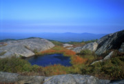 New Hampshire Posters - Mount Monadnock Summit Pond Poster by John Burk