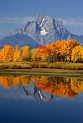 Mount Moran Reflections Print by Eric Foltz