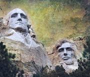 Mount Rushmore - My Impression Print by Jeff Burgess