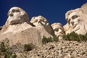 Abraham Lincoln Color Digital Art - Mount Rushmore - US Presidents by Peter Art Print Gallery  - Paintings Photos Posters