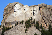 National Memorial Prints - Mount Rushmore I Print by Teresa Zieba