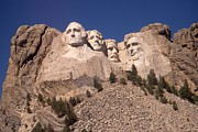 Abraham Lincoln Pictures Prints - Mount Rushmore Monument South Dakota Print by Peter Art Print Gallery  - Paintings Photos Posters