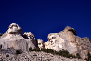 National Memorial Prints - Mount Rushmore National Memorial Print by Thomas R Fletcher