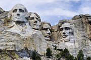 Abe Lincoln Photo Posters - Mount Rushmore National Monument Poster by Jon Berghoff