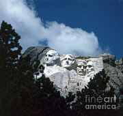 Thomas Jefferson Prints - Mount Rushmore Print by Photo Researchers, Inc.