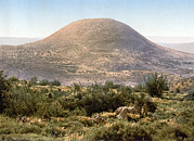 Photochrom Photos - Mount Tabor, Holy Land, Israel by Everett
