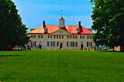 Mount Vernon Prints - Mount Vernon Print by Bill Cannon