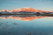 Symmetry Art - Mount Vettore by Photographer  Renzi Tommaso  tommyre00@hotmail.it