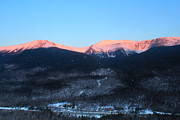 Ledge Prints - Mount Washington and Pinkham Notch Sunrise Print by John Burk