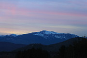 North Conway Framed Prints - Mount Washington in Evening Framed Print by John Burk