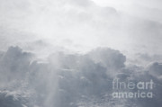 Blowing Snow Prints - Mount Washington New Hampshire - Whiteout Print by Erin Paul Donovan