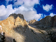 Granite Framed Prints - Mount Whitney Trail Framed Print by Scott McGuire