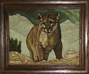 Artist Reliefs - Mountain Lion by Gerald Sabatini