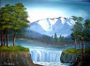 Sloan Paintings - Mountain Majesty by Ervin Sloan