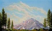 Lookout Painting Prints - Mountain Majesty Print by Frank Wilson
