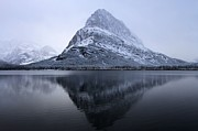 Mountainscapes Framed Prints - Mountain Mirror Framed Print by Adam Jewell