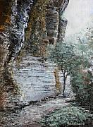 Tn Painting Prints - Mountain Pass Print by Todd A Blanchard