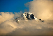 Jay Mudaliar - Mountain peak with cloud...