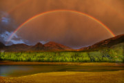 Spring Scenery Originals - Mountain Rainbow by Mark Smith