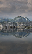 Nord Prints - Mountain Reflection Print by Andy Astbury
