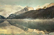 Chateau Acrylic Prints - Mountain Reflections Acrylic Print by Andrea Hazel Ihlefeld