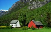 Norway Originals - Mountain Retreat. by Terence Davis