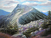 Mount Wilson Paintings - Mountain Ridge by Frank Wilson
