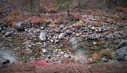 Pebbles Prints - Mountain River Print by Irina  March