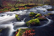 Estonia Photo Framed Prints - Mountain river Framed Print by Romeo Koitmae