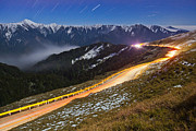 Mountain Road Print by Higrace Photo