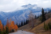 Rainy Day Photos - Mountain Road by Larry Ricker