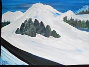 Snowy Roads Originals - Mountain Roads by Teresa Nash