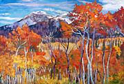 Mountain Silence Print by David Lloyd Glover