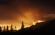 Bruce M Herman and Photo Researchers - Mountain Sunset