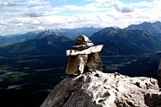 Jonathan Lagace - Mountain top inukshuk