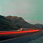 Mountain Road Metal Prints - Mountain Zoom Metal Print by Mark A Paulda