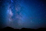 Independence Prints - Mountains and Milky Way Print by Adam Pender