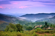 Chianti Landscape Prints - Mountains Print by Christian Wilt