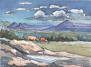 Robynne Hardison - Mountains from Maleny
