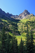 Cascades Prints - Mountains in North Cascades National Park Print by Pierre Leclerc