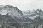 Canadian Art Framed Prints - Mountains Majesty Framed Print by Andrea Hazel Ihlefeld