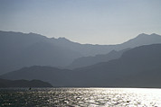 Harbors Metal Prints - Mountains Of North Korea As Seen Metal Print by Michael S. Yamashita