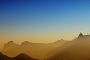 Natural Landmark Prints - Mountains Of Rio De Janeiro Print by Antonello