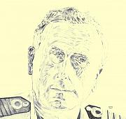 Lord Drawings Metal Prints - Mountbatten Metal Print by Dennis Larson