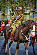 Anzac Photos - Mounted Infantry 2 by Douglas Barnard