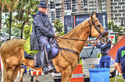 Police Officer Originals - Mounted Police by Dieter  Lesche