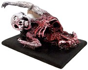 Zombie Sculpture Originals - Mourning Stretch by Tezkat Moonrazor