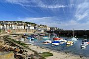 Harbours Framed Prints - Mousehole Framed Print by Carl Whitfield