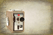 Consumer Prints - Movie Camera Print by Darren Fisher