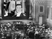 Spectator Photo Prints - MOVIE THEATER, 1920s Print by Granger